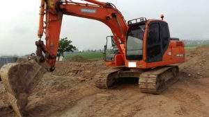 Разработка котлованов и вывоз грунта